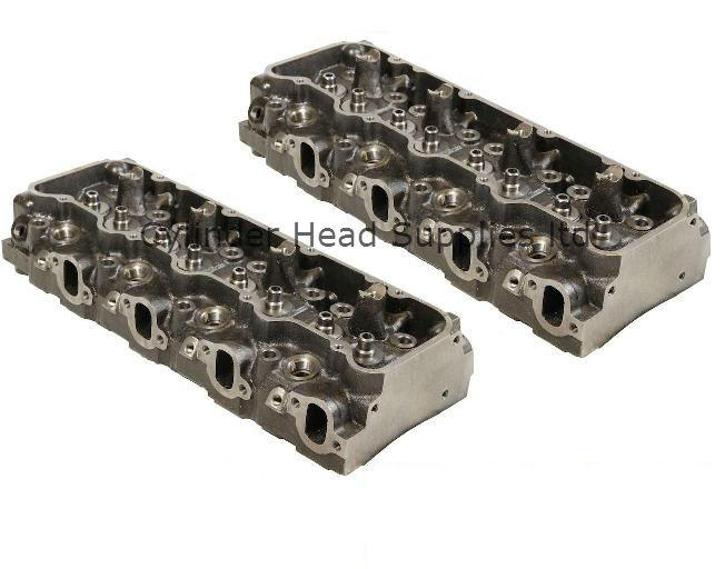 Chevy 6.2 V8 Diesel Cylinder Heads (Pair)