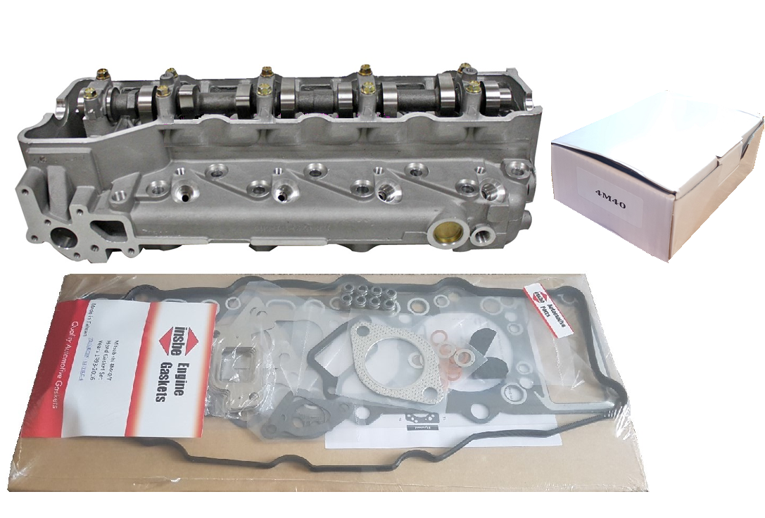Mitsubishi 4M40 Cylinder Head Package Deal